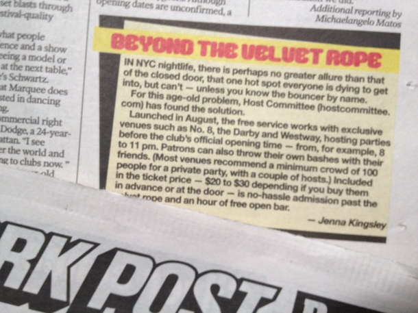 Go Buy The New York Post!